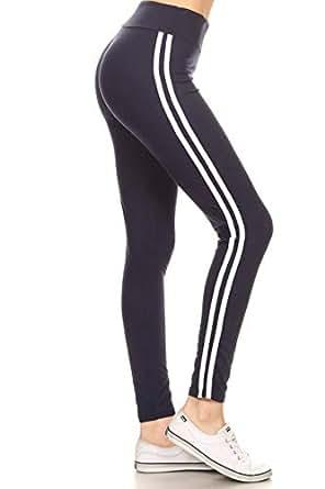 Leggings Depot Yoga Pants Lined Navy (LIIR128-NAVY)