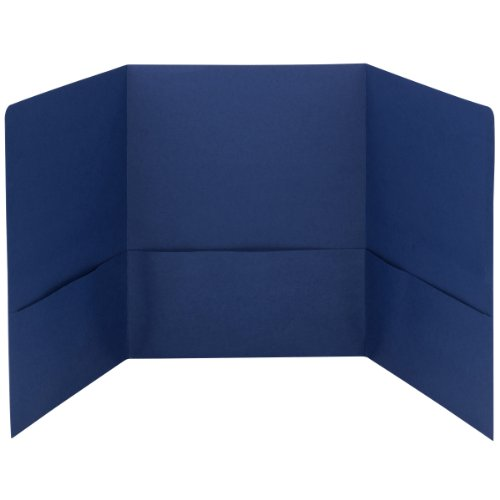 Smead Tri-Fold Pocket Folders, Holds up to 150 Sheets, Le...