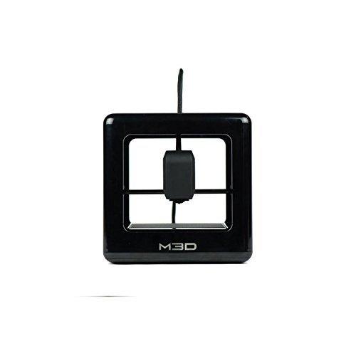 The Micro 3D Printer Retail Edition – Auto-calibrating 3D Printer, Assorted 3D Ink – 1 Spool, 1.75mm, 0.5lb., Windows Software, External Filament Port