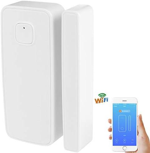 [해외]Smart Home Security Multipurpose Alarm Chime WiFi Door Sensor Chime Phone Controlled Magnet Windows Alarm Sensor Wireless Door Open Alarm Chime CompatibleAlexa Google Home IFTTT(3 Pack) / Smart Home Security Multipurpose Alarm Chim...