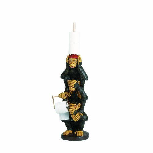 RAM Gameroom Products 32-Inch Monkey Tissue Holder