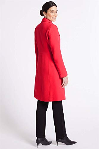 Pink Marks Femme Red Spencer And Ex Manteau RFHnYSvqY