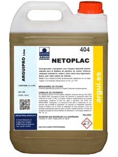 NETOPLAC 2 Litros. Potente desengrasante profesional.: Amazon.es: Hogar