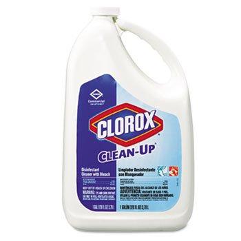 Clean-Up Cleaner w/Bleach, 128 oz. Bottle