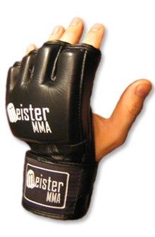MMA Ultimate Gloves Black - Medium