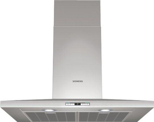 Siemens LC78WA540 - Campana (Recirculación, 520 m³/h, Montado en pared, Halógeno, Acero inoxidable, 260W): Amazon.es: Hogar
