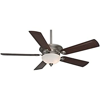 Casablanca 59062 whitman 54 antique pewter ceiling fan with five casablanca 59062 whitman 54 antique pewter ceiling fan with five rosewood blades and a light mozeypictures Choice Image