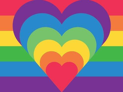 Rainbow Hearts egift card link image
