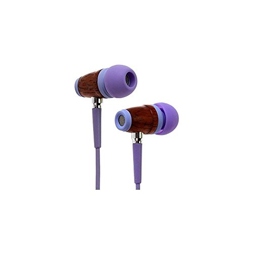 Symphonized Kids Volume Limited Premium Wood in-Ear Noise-isolating Headphones,...