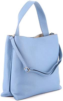 Orciani Luxury Fashion Femme B02031SOFTORTENSIA Bleu Claire Cuir Sac Tote | Printemps-été 20