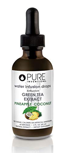 Pure Inventions, Antioxidant Green Tea Extract - 2 fl. Ounce (Pineapple and Coconut)