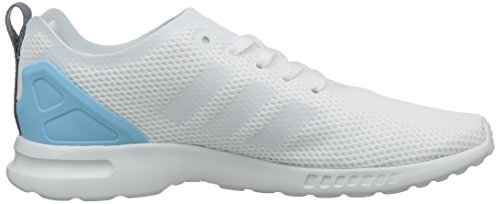 adidas ZX Flux Adv Smooth, Zapatillas para Mujer Blanco (Core White/Core White/Blush Blue)