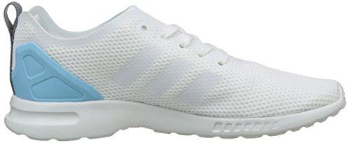 Turnschuhe Weiß Kernweiß Zx Womens adidas Adv Blau Glatte Weiß niedrige Kernweiß Flux UYxZqw