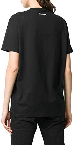 Fashion | Dsquared2 Woman S75GD0074S225427900 Black Cotton T-Shirt | Spring Summer 20