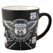 (10 7/18) SALE San Francisco Coffee Mug Historic Route 66 Coffee Mug 16 oz Taper SFMUGOLOA 60521 ()