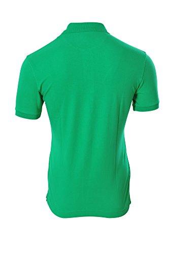 La Martina Polo Poloshirt Einfarbig Grün XXL