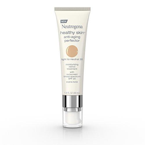 Neutrogena Healthy Skin Anti-Aging Perfector Spf 20, Retinol Treatment, 30 Light To Neutral, 1 Fl. Oz.