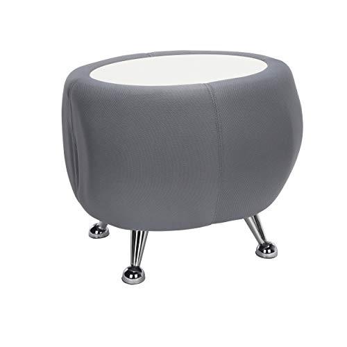OFM (OFMV9 2001T-2331-WHT-OFM Jupiter Table 2331-GREEN W/White TOP Office Chair - Table Side Modern Jupiter