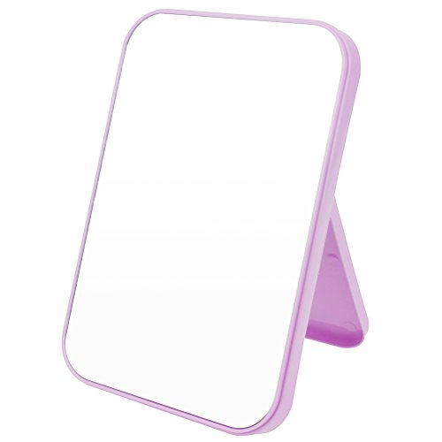JOLY Tabletop Vanity Makeup Mirror 4 Color for You Choice (Rose Red)