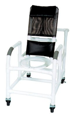 Wheeled Reclining Shower (Wheeled Reclining Shower/Commode Chair Wheeled Reclining Shower/Commode Chair with Pail)