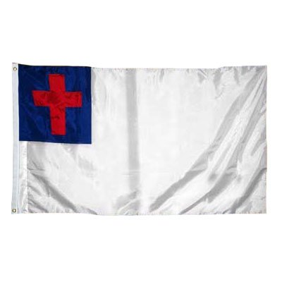 Christian Flag 6X10 Foot Nylon