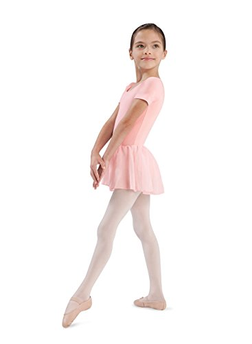 Bloch Youth Tiffany Dress, Light Pink-4/6 (Bloch Tank Leotard)