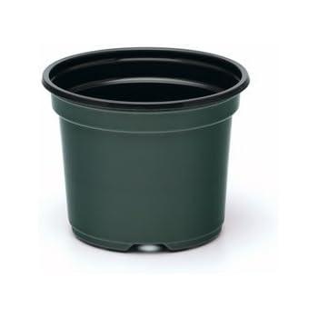 Amazon.com: 8 Inch Flower Pot (Qty. 10), Plastic, Green
