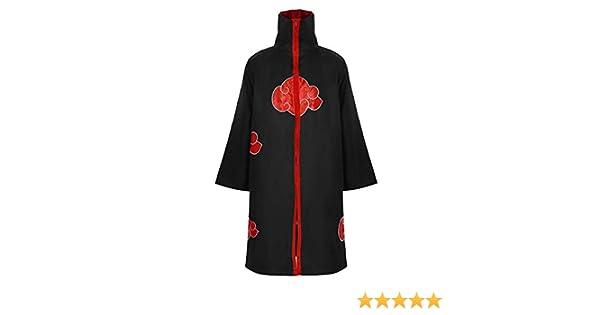 inlzdz Unisex Capa de Brujo Collar Cloak Cosplay de Anime Japones Capa Abrigo Largo Cosplay Disfraz de Vampiro Zombie para Halloween Fiesta