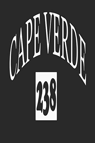 Cape Verde 238: Funny Cape Verde Gifts for Portuguese Notebook