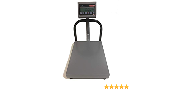 Torrey EQB 100//200 Bench Shipping Scale,200 lb X 0.05 lb,NTEP Legal For Trade,19X15 Platter,NEW