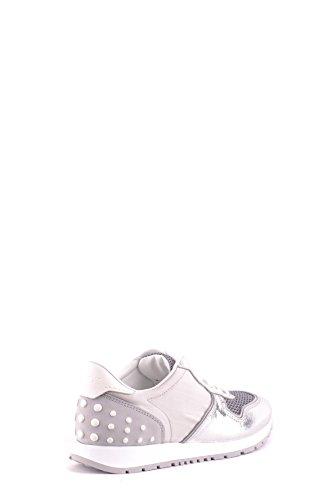 Tods Zapatillas Para Mujer Plateado Plata It - Marke Größe