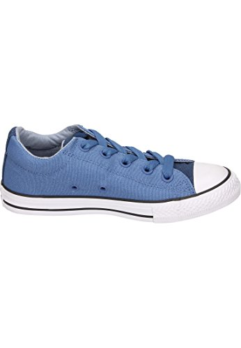 Converse Ctas Street Slip Navy/Nightfall Blue, Zapatillas Sin Cordones Unisex Niños Blau (Nightfall Blue/Glacier Grey/White)