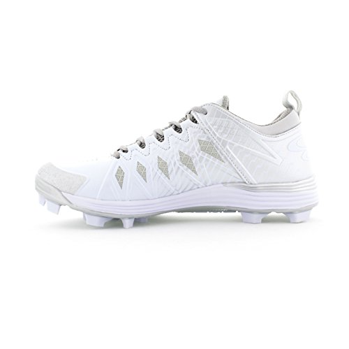 White Sizes Squadron Silver Cleats Mens Multiple Color 8 Boombah Molded Options Awv5qp8p