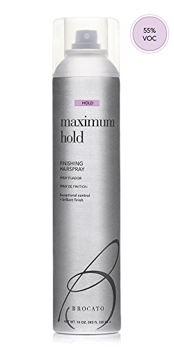 Maximum Hold Finishing Hairspray 10oz by Beautopia Hair (55% VOC) ()