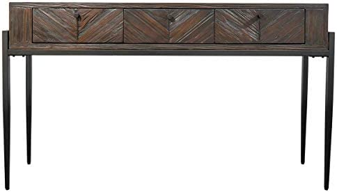Hmleton Rustic Console Sofa Table