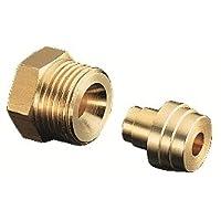 Oventrop Anschlusssatz 1-fach aus Messing 6 mm