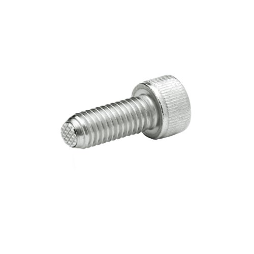J.W. Winco 8N20P48/VRN GN606-NI Socket Head Cap Screw with Serrated Flat Ball, Safety Twist Feature, M8 x 20 mm Thread Length, Stainless Steel by JW Winco