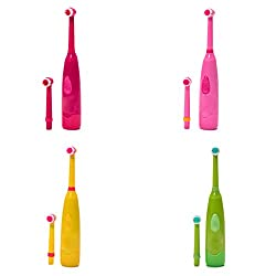 Onpiece 1PC Oral Care Child Rotating Cute Electric Toothbrush, Color Random