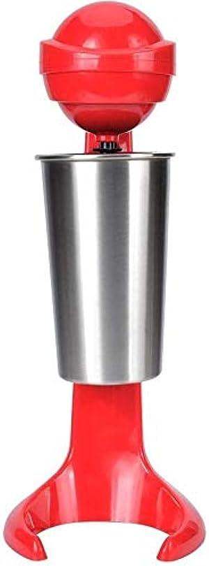 Double Head Electric Milkshake Machine Maker Soft Ice Cream Mixer Blender Cocktail Stainless Steel Drink Mixer Coffee Drink Mixer Milk Blender for Home Bar (US Plug110V)