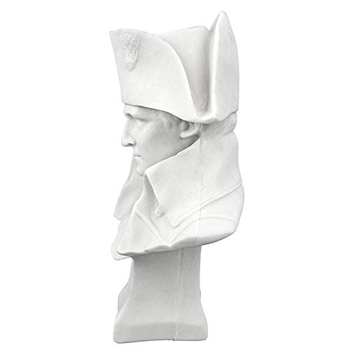 Design Toscano Emperor Napoleon Bonaparte Bonded Marble Statue, White