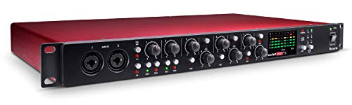 Focusrite Scarlett OctoPre 8-channel Microphone Preamp with ADAT Connectivity + 1 Year Free Extended Warranty