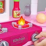 Temi Kitchen Playset Pretend Food - 53 PCS Kitchen