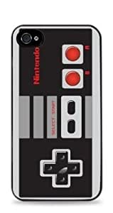 NES Controller Apple iPhone 4 / 4S Silicone Case - Black - 152
