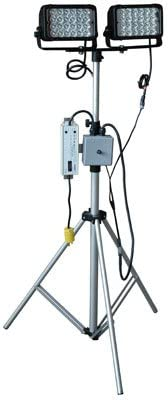-Spot-UK BS1363-Single Switch Extends 3.5-10 Portable Telescoping LED Light Tower 8,640 Lumen 120-277VAC 144 Watts