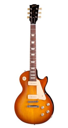 Gibson 2016 T Les Paul Studio 60's Tribute Electric Guitar, Satin Honey Burst
