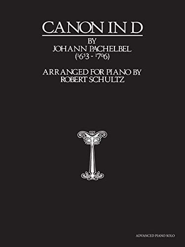 Canon in D: Advanced Piano Solo, Sheet from Alfred Publishing