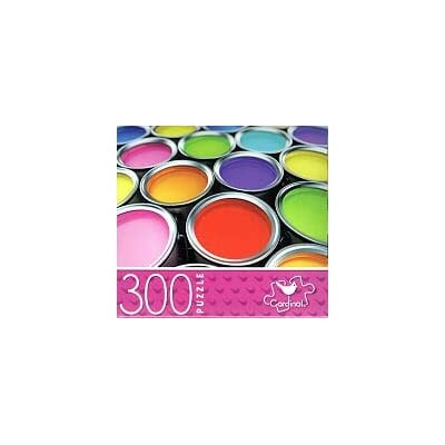 Paint Cans - 300 Piece Jigsaw Puzzle: Toys & Games