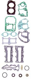 OMC 9.9-15 hp Complete Power Head Gasket Kit WSM 500-118 OEM# 394546 ()