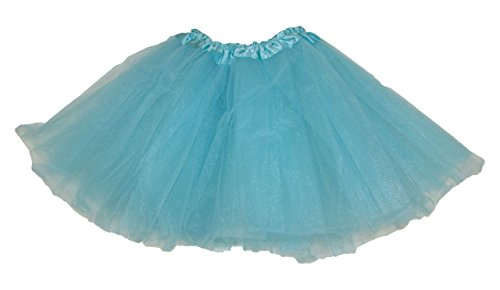 Halloween Costumes Wholesale Suppliers (Hairbows Unlimited Aqua Girls Dance or Ballet Tutu Perfect for Babies, Toddlers and Youth Recitals or Play)