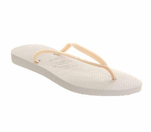 pour femme 36 Havaianas blanc Sandales Blanc W7aC5WqzwU